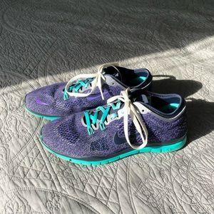 Nike Free TR Fit 4 Gradient Purple Shoes